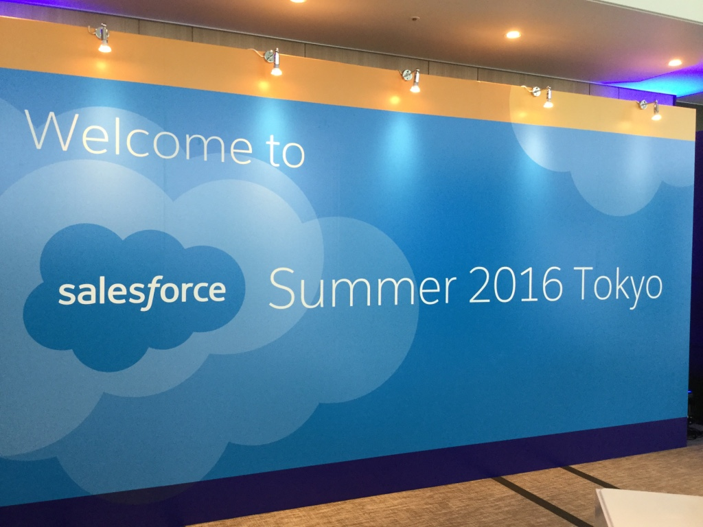 Salesforce Summer 2016 NCD Booth
